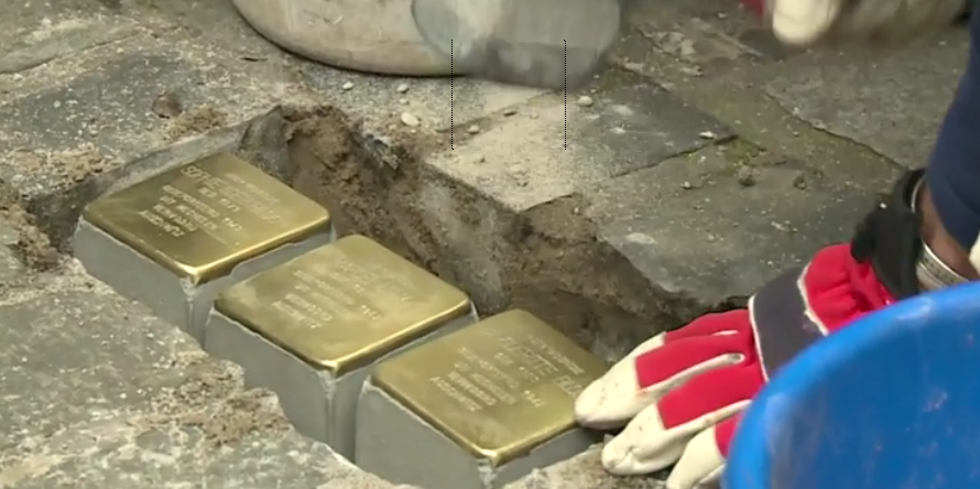 Stolpersteine and necessity of a monument to remember