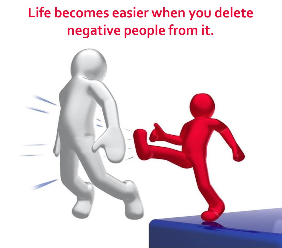 Deleting Negative People